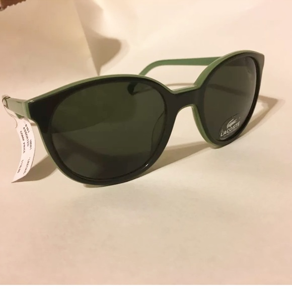 brand new 7b000 70946 Lacoste Green Sunglasses UV Protection Rt  118